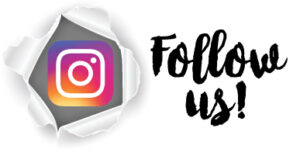 Instagram logo to follow account